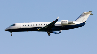 TC-TRY - Bombardier CL-600-2B19 Challenger 850 - Turkey - Government
