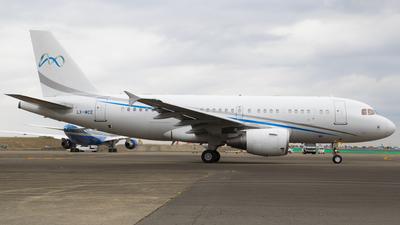 LX-MCE - Airbus A319-115X(CJ) - Global Jet Luxembourg