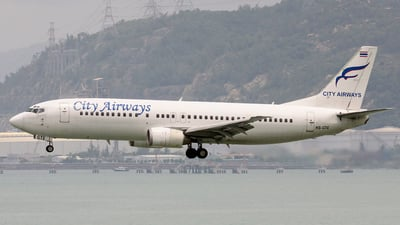 HS-GTE - Boeing 737-4H6 - City Airways