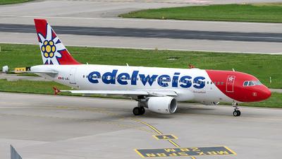 A picture of HBJJL - Airbus A320214 - Edelweiss Air - © Sebastian Thiel