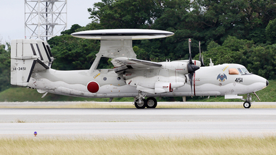 34-3451 - Grumman E-2C Hawkeye - Japan - Air Self Defence Force (JASDF)
