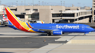 A picture of N8565Z - Boeing 7378H4 - Southwest Airlines - © Jason Whitebird