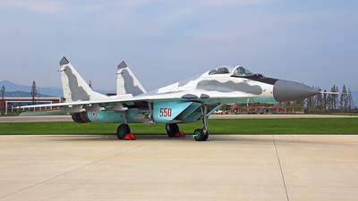 550 - Mikoyan-Gurevich MiG-29 Fulcrum - North Korea - Air Force