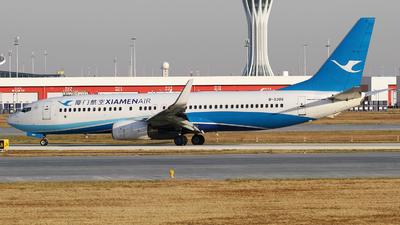 A picture of B5386 - Boeing 73786N - Xiamen Air - © M.T