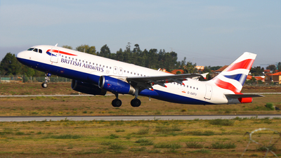 G-GATU - Airbus A320-232 - British Airways