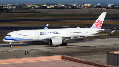 B-18916 - Airbus A350-941 - China Airlines