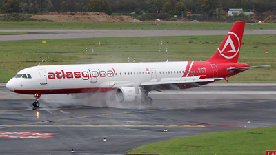 TC-ATZ - Airbus A321-211 - AtlasGlobal