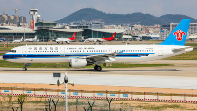 A picture of B6622 - Airbus A321211 - China Southern Airlines - © Dandelionlv125
