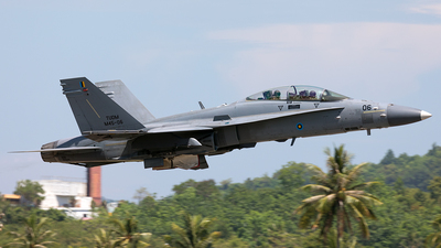 M45-06 - McDonnell Douglas F/A-18D Hornet - Malaysia - Air Force