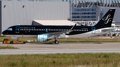 D-AUAP - Airbus A320-214 - Starflyer