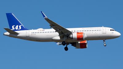 SE-DYM - Airbus A320-251N - Scandinavian Airlines (SAS)
