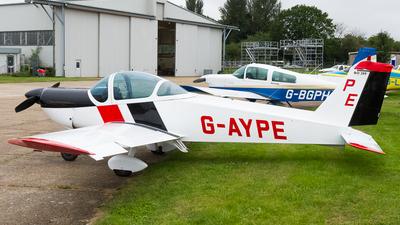 G-AYPE - Bolkow Bo.209 Monsun 150RV - Private