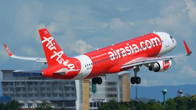 A picture of HSCBI - Airbus A320216 - AirAsia - © SOMPOL JUNLAMART