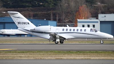 N538CM - Cessna 525 Citation CJ3 - Private