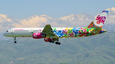 LY-FLG - Boeing 757-204 - Sunday Airlines