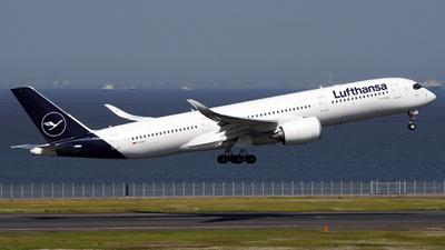 A picture of DAIXJ - Airbus A350941 - Lufthansa - © Kazuchika Naya