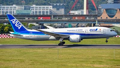 JA840A - Boeing 787-8 Dreamliner - All Nippon Airways (ANA)