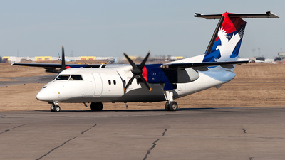 C-FLAD - Bombardier Dash 8-102 - Hawkair Aviation