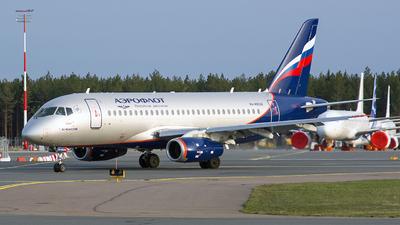 A picture of RA89026 - Sukhoi Superjet 10095B - Aeroflot - © Olga Shelekhova