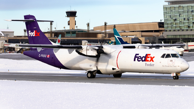 C-FVDO - ATR 72-202(F) - Fedex Feeder (Morningstar Air Express)