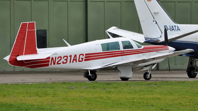 N231AG - Mooney M20K - Private