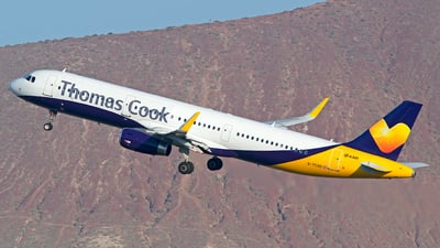 G-TCVD - Airbus A321-231 - Thomas Cook Airlines