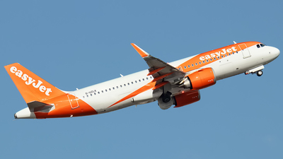 G-UZLK - Airbus A320-251N - easyJet
