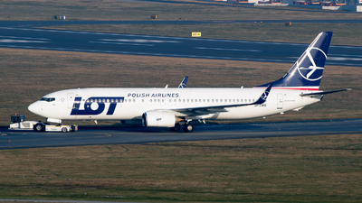 SP-LWG - Boeing 737-86N - LOT Polish Airlines