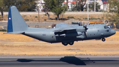 992 - Lockheed KC-130R Hercules - Chile - Air Force