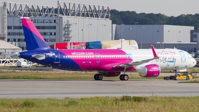 D-AVYX - Airbus A321-271NX - Wizz Air