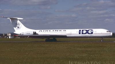 OK-JBI - Ilyushin IL-62 - IDG Technology Airlines