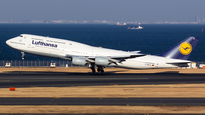 D-ABYL - Boeing 747-830 - Lufthansa