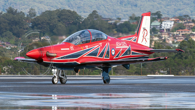 A picture of A54025 - Pilatus PC21 -  - © Peter Williamson