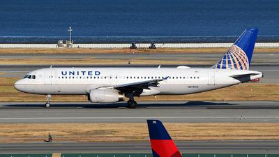 N413UA - Airbus A320-232 - United Airlines