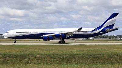 A picture of 9HSUN - Airbus A340312 - Hi Fly - © Hongyu Wang