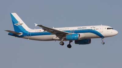 TC-KLB - Airbus A320-232 - Kolavia