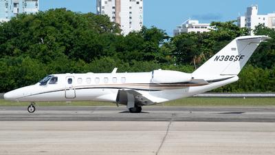 N386SF - Cessna 525B CitationJet 3 - Private