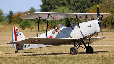 D-EFEM - Stampe and Vertongen SV-4C - Flugwerk Mannheim