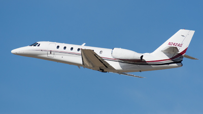 N242AS - Cessna 680 Citation Sovereign - Private