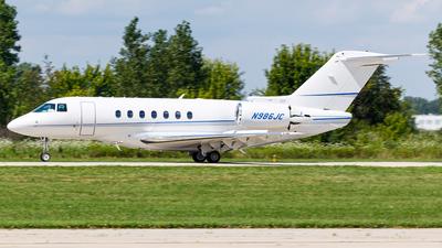 N986JC - Hawker Beechcraft 4000 - Private