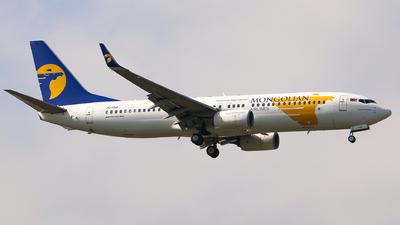 A picture of JU1088 - Boeing 7378AL - MIAT Mongolian Airlines - © Li Ruixiang