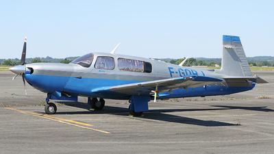 F-GOBJ - Mooney M20M TLS - Private