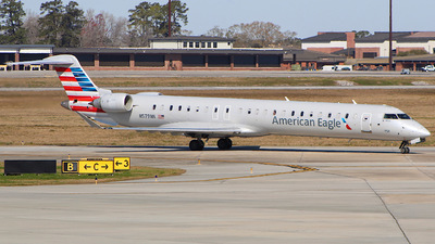 A picture of N579NN - Mitsubishi CRJ900LR - American Airlines - © CHS Spotting