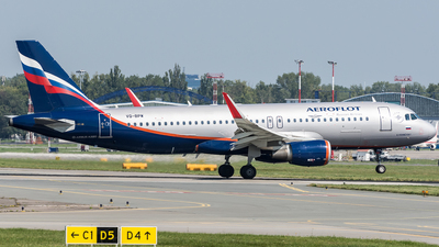 VQ-BPW - Airbus A320-214 - Aeroflot