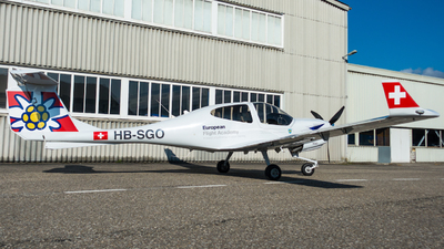 HB-SGO - Diamond DA-40NG Diamond Star - European Flight Academy