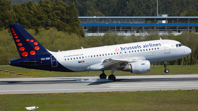OO-SSI - Airbus A319-112 - Brussels Airlines