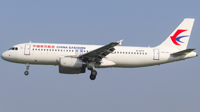 A picture of B6375 - Airbus A320232 - China Eastern Airlines - © AGUIJUN-Lei