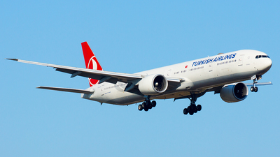 TC-JJO - Boeing 777-3F2ER - Turkish Airlines