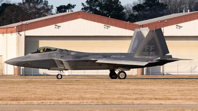 10-4192 - Lockheed Martin F-22A Raptor - United States - US Air Force (USAF)