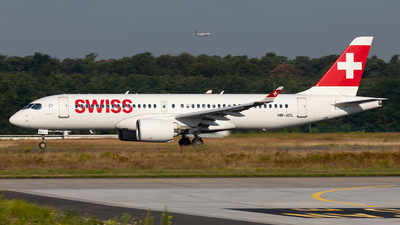 A picture of HBJCL - Airbus A220300 - Swiss - © Sebastian Sowa